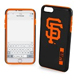 (D01) LICENSED TEAM IPHONE 6/6S IMPACT DUAL HYBRID - SAN FRANCISCO GIANTS