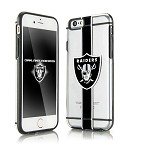 (D01) LICENSED TEAM IPHONE 6/6S HYDROCLEAR - OAKLAND RAIDERS