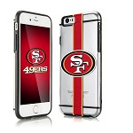(D01) LICENSED TEAM IPHONE 6/6S HYDROCLEAR - SAN FRANCISCO 49ERS
