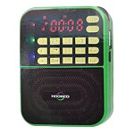 (MA) PORTABLE MULTI FUNCTION MP3 FM/AM H500-AM SPEAKER - GREEN