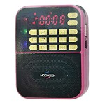 (MA) PORTABLE MULTI FUNCTION MP3 FM/AM H500-AM SPEAKER - PINK
