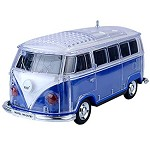(1-MA) PORTABLE BLUETOOTH LED SPEAKER - VW BUS BLUE