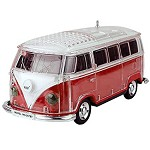 (1-MA) PORTABLE BLUETOOTH LED SPEAKER - VW BUS RED