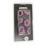 (01-SR) IPHONE X/XS MODAL CASE - CLEAR/FLOWER (RETAIL PACKED)