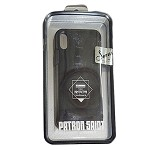(01-SR) IPHONE X/XS REMAX SERUI CASE - BLACK (RETAIL PACKED)