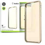 (1-SR) IPHONE 6/6S  BELKIN - SHEER FORCE DUAL-LAYER CASE - CLEAR/GOLD (RETAIL PACKED)