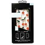 (1-SR) IPHONE 6/6S  SONIX - ACTIVE SERIES RUGGED CASE W/ BUILT IN SCREEN PROTECTION - CHERRIES (RETAIL PACKED)