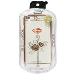 (1-SR) IPHONE 6S PLUS ICON FLANG - ROSE (RETAIL PACKED)