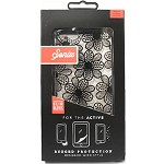 (1-SR) IPHONE 6S PLUS SONIX - ACTIVE SERIES RUGGED CASE W/ BUILT IN SCREEN PROTECTION - BOHO FLORAL BLACK (RETAIL PACKED)
