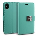 IPHONE X/XS MODEBLU MODE DIARY - MINT (RETAIL PACKED)