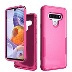 (01-NEW) LG STYLO 6 COMMANDER CASE - HOT PINK/HOT PINK