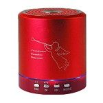 (NU) BS-202-RD MINI PORTABLE SPEAKER - RED