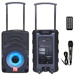 (NU) TS-70110BL TROLLEY BLUETOOTH SPEAKER - BLACK