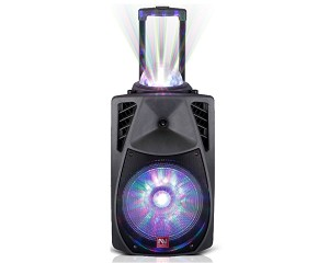 (N01) TS-9125BL RECHARGEABLE PORTABLE SPEAKER - BLACK