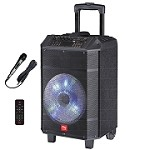 (NU) TS-13108 TROLLEY BLUETOOTH SPEAKER - BLACK