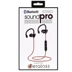 (PCO) SOUNDPRO LM-P750 BLUETOOTH HEADPHONES - RED
