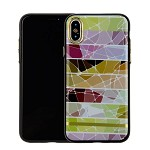 (1-CO) IPHONE X/XS CHROME MARBLE CASE - PATTERN (RETAIL PACKED)