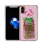 (1-CO) IPHONE X/XS ART MILKYWAY CASE - VASE PINK (RETAIL PACKED)