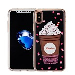 (1-WH) IPHONE X/XS ART MILKYWAY CASE - FRAP BLACK (RETAIL PACKED)