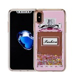 (1-WH) IPHONE X/XS ART MILKYWAY CASE - PERFUME PINK (RETAIL PACKED)