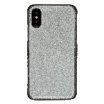 (1-CO) IPHONE X/XS SPARKLE TOUGH CASE - SILVER (RETAIL PACKED)