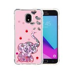 (P01) SAMSUNG GALAXY J7 (2018) ART MILKYWAY CASE - ELEPHANT PINK (RETAIL PACKED)