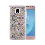 (P01) SAMSUNG GALAXY J7 (2018) STAR MILKYWAY CASE - SILVER (RETAIL PACKED)