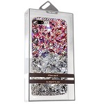 (01-CO) IPHONE X/XS TPU DIAMOND - PINK/SILVER (RETAIL PACKED)