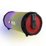(MA) AXESS 1044 BLUETOOTH SPEAKER WITH LED LIGHT - RED