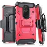 (E01) MOTO G7 PLAY HEAVY DUTY TAXTICAL COMBO - RED