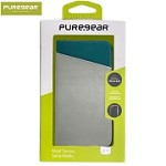 (01-SC) IPHONE 8 PLUS / 7 PLUS PUREGEAR EXPRESS FOLIO CASE - GRAY/TEAL (RETAIL PACKED)
