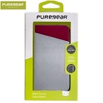 (01-SC) IPHONE 8 PLUS / 7 PLUS PUREGEAR EXPRESS FOLIO CASE - GRAY/PINK (RETAIL PACKED)