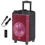 (NU) TS-13108 TROLLEY BLUETOOTH SPEAKER - RED
