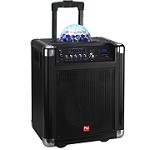 (NU) TS-20110B-1 TROLLEY BLUETOOTH SPEAKER - BLACK