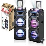 TROLLEY BLUETOOTH SPEAKER W/ LED LIGHTING