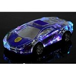 (1-KH) PORTABLE BLUETOOTH SPEAKER - LAMBORGHINI LED (YELLOW)