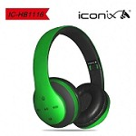 (XM) WIRELESS BASE EARPHONE WITH MIC X-HB1116 - GREEN