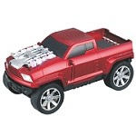 (MA) PORTABLE BLUETOOTH SPEAKER - V87 TRUCK RED
