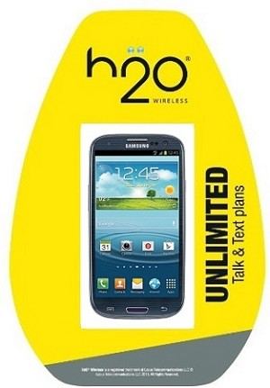 H2O SAM S3 [NO CONTRACT] PHONE & PRE-FUNDED H2O SIM CARD