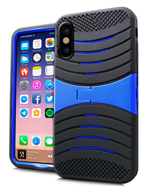(3E) IPHONE X/XS WAVE STAND - BLUE