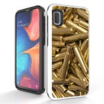 (B01) SAMSUNG A10E DUO SHIELD - BULLET WALL PAPER