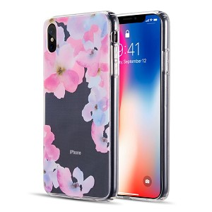 (D01) IPHONE XS MAX WATER COLOR IMD TPU CASE - BE ENCHANTED