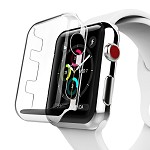 (D01) APPLE WATCH SERIES 3 38MM CRYSTAL CASE - CLEAR