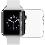 (D01) APPLE WATCH SERIES 3 42MM CRYSTAL CASE - CLEAR