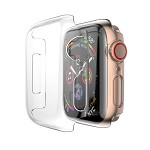 (D01) APPLE WATCH SERIES 5 / 4 40MM CRYSTAL CASE - CLEAR
