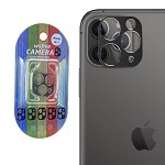 IPHONE 11 PRO / PRO MAX CAMERA LENS METAL FRAME BLACK