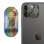 IPHONE 11 PRO / PRO MAX CAMERA LENS METAL FRAME GREEN