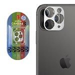 IPHONE 11 PRO / PRO MAX CAMERA LENS METAL FRAME SILVER
