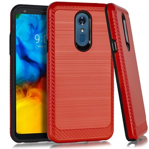 (3E) LG STYLO 5 BRUSHED METAL 3 - RED