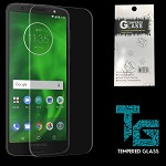 TEMPERED GLASS FOR MOTOROLA MOTO E5 PLUS - CLEAR